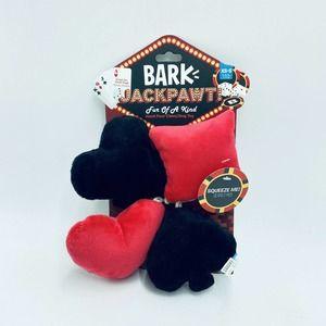 Bark Box Fur Of A Kind XS-S Dog Toy